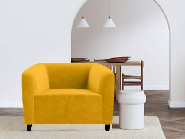 Febonic FABO Fabric 1 Seater  Sofa