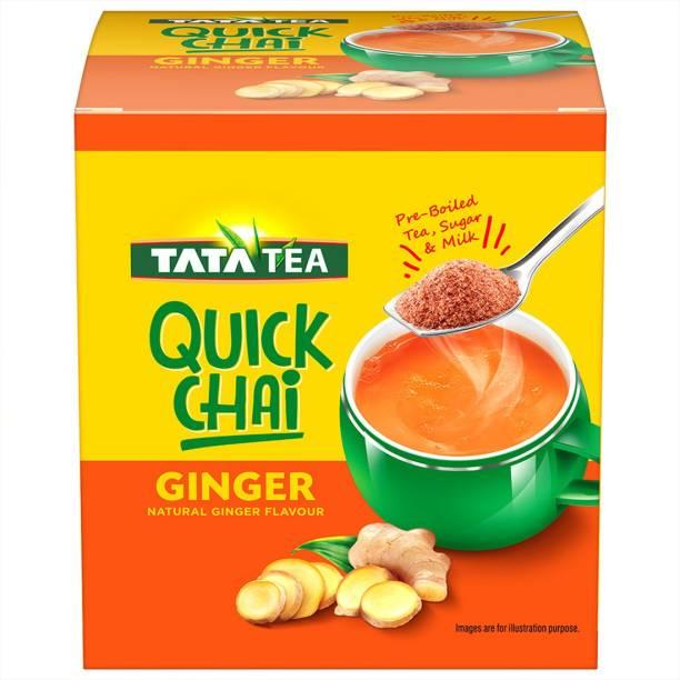 Tata Quick Chai Ginger Masala Tea Box