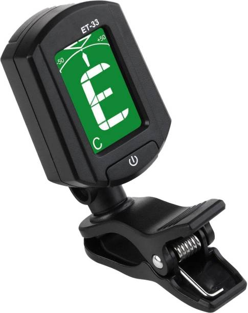 Right Gear Digital Display Automatic Clip-On Guitar Bass Tuner Automatic Digital Tuner