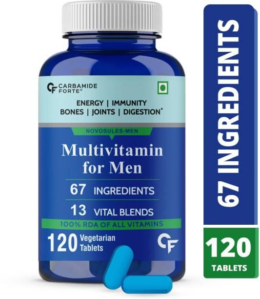 CF Multivitamin Tablets for Men with Probiotics & Minerals Supplement