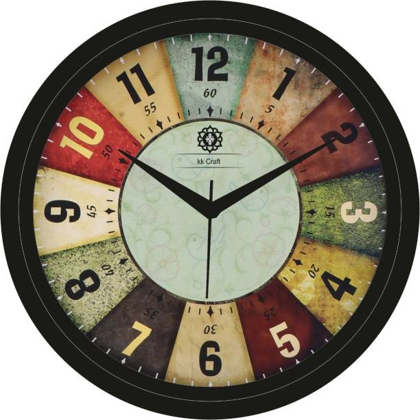 mishty Analog 28 cm X 28 cm Wall Clock