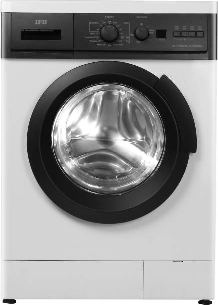 IFB 6 kg Fully Automatic Front Load with In-built Heater Black, White