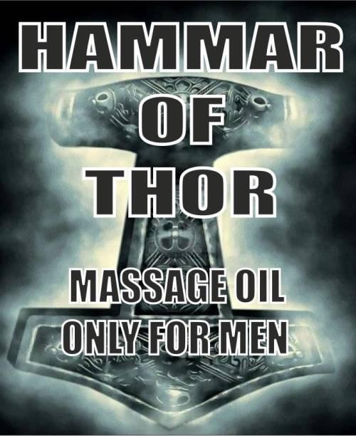 herbal veda Hammar Of Thor Oil | 30ml | Pack Of 3|