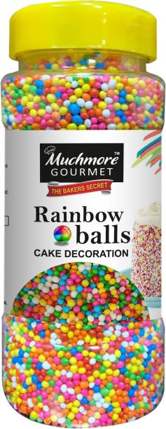 Muchmore |Cake Decoration|Rainbow Balls|Sprinkles|Silver Balls|Baking|Vermicelli|Cake Moulds|Cake Accessories|Chocolate Sprinkles