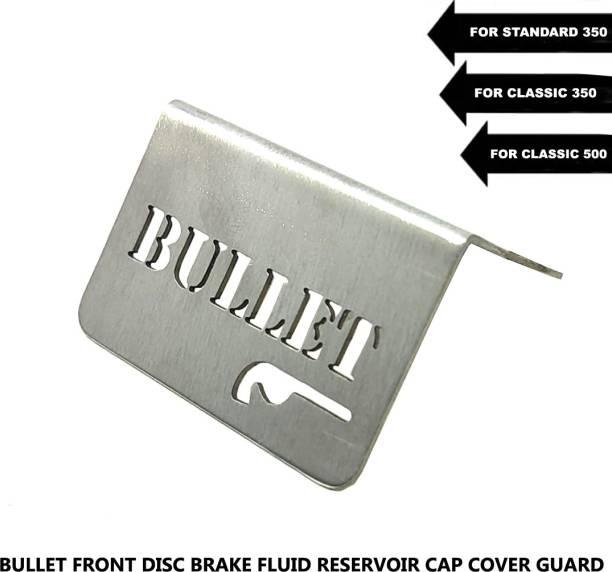 DESIKARTZ BULLET 350/500 Front Disc Brake Fluid Reservoir Cap Cover Guard Bike Crash Guard