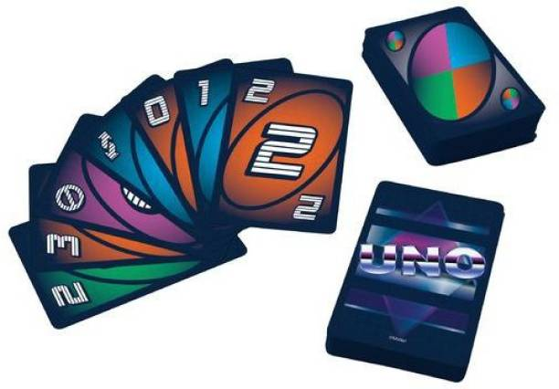 mattel GAMES UNO Iconic 1980s Card Game