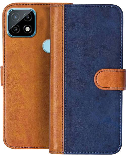 Knotyy Flip Cover for Realme C21