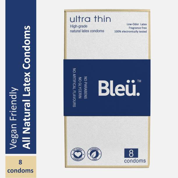 Bleu Natural Latex Paraben-Free Non-Toxic Ultra-thin Condom