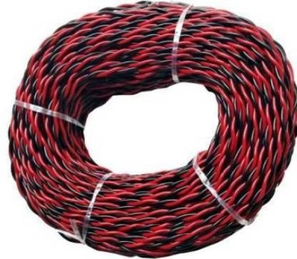 Smuf PVC Red, Black 45 m Wire