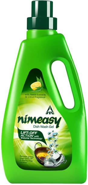 Nimeasy Dish Wash Liquid Bottle Dish Cleaning Gel