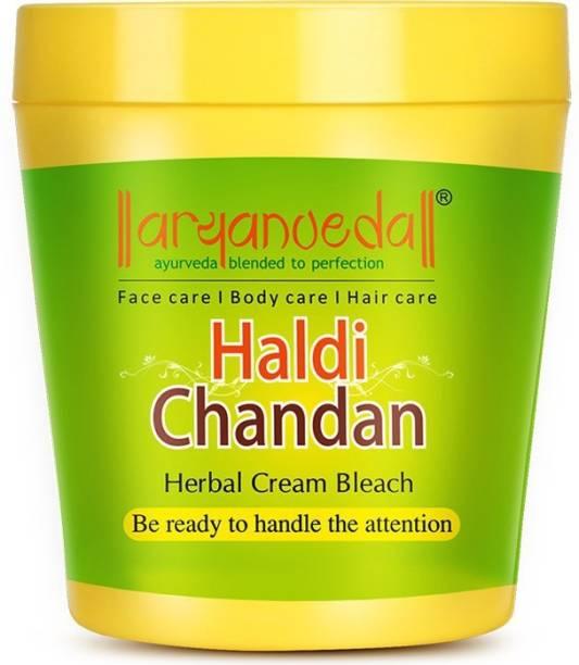 Aryanveda Herbals Haldi-Chandan Bleach Cream
