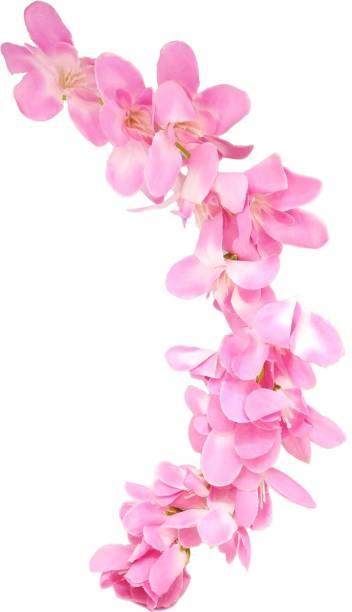TANVI J Gajra Pink Bun Clip
