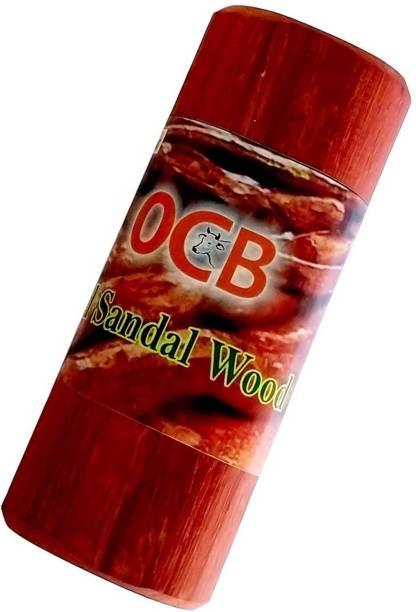 OCB Lal chandan Stick |Red Sandalwood Stick|Raktchandan| 1 PC 90 to 100 Grams