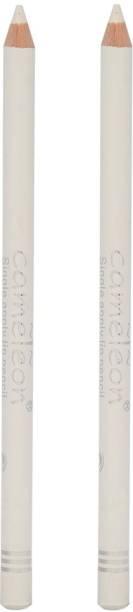 CL2 Cameleon White Kajal Eyeliner Pencil Waterproof