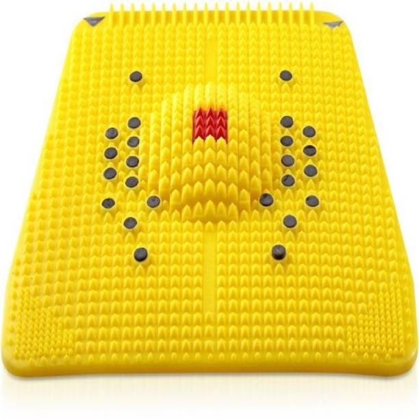 KRISHNA Accupressure Blood Circulation accupressure Mat And Feet (yellow) Massager
