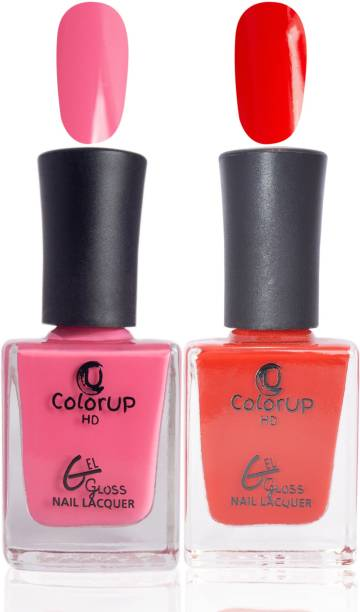 ColorUp HD Gel Gloss Nail Polish (Mind Hunter, Red Blade)