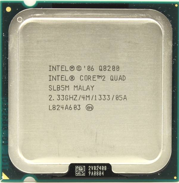 Intel Quadcore 2.33 GHz LGA 775 Q8200 Wok on G31 and G41 Processor