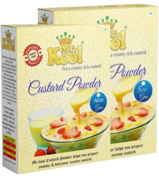 Mr.Kool Premium Vanilla Custard Powder 900G Combo 900 g