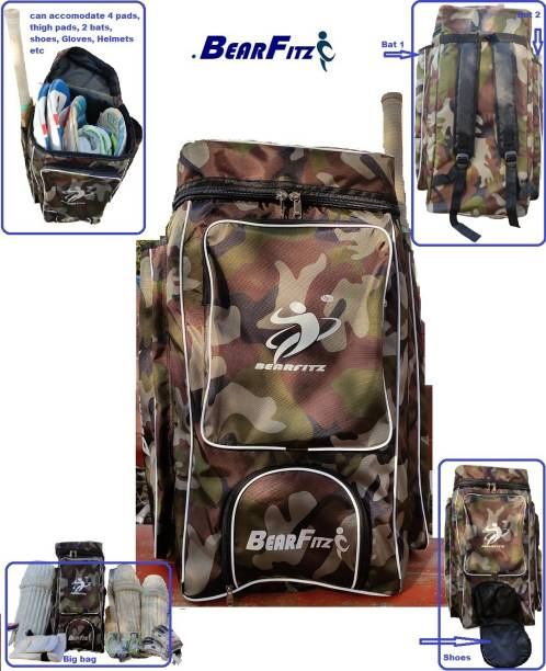 Bearfitz CRICKET KIT BAG FOR PROFESSIONAL CRICKETERS BF5 FULL SIZE