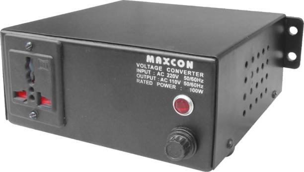 MX 220V to 110V Voltage Converter (100 Watts) 1  Socket Extension Boards