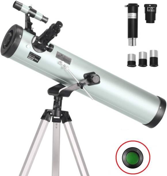 FotoCart Powerful 76AZ Reflector Astronomy Telescope Reflecting Telescope