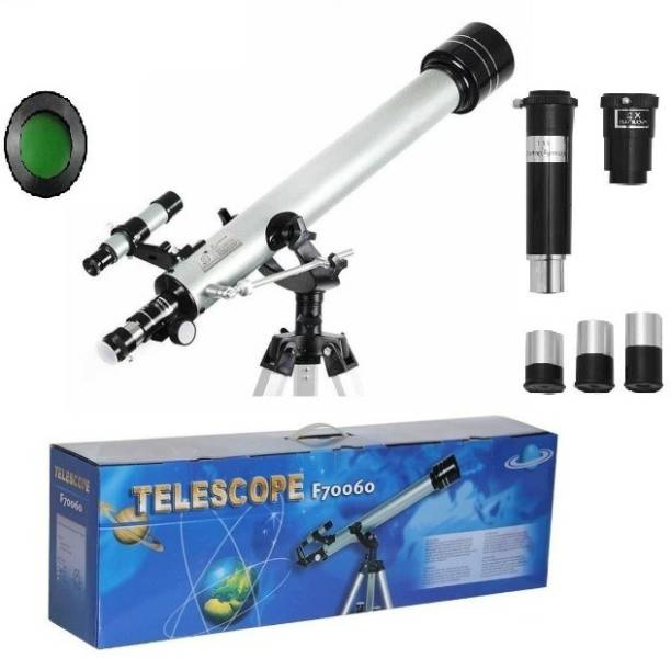 FotoCart Powerful 60AZ Refractor Beginner Telescope F70060 Refracting Telescope