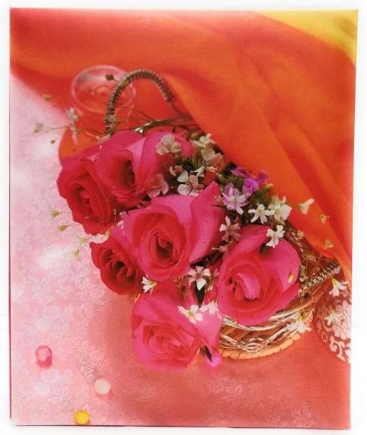 Natraj Memo Screw Type Photo Album With 0.6mm Thick Extra Clear PVC Film, 300 Pocket, (Photo Size Supported: 4'x6') Album
