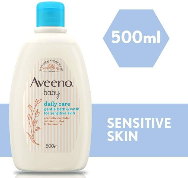 Aveeno Baby Daily Care Gentle Bath & Wash 500ml