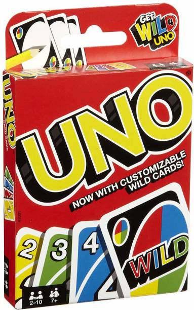 ARDAKI UNO Cards Fun Playing Card | Family Playing Card COMPLETE PACK Games Toy