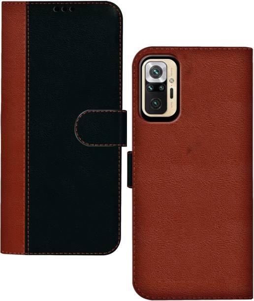 Hupshy Flip Cover for Redmi Note 10 Pro
