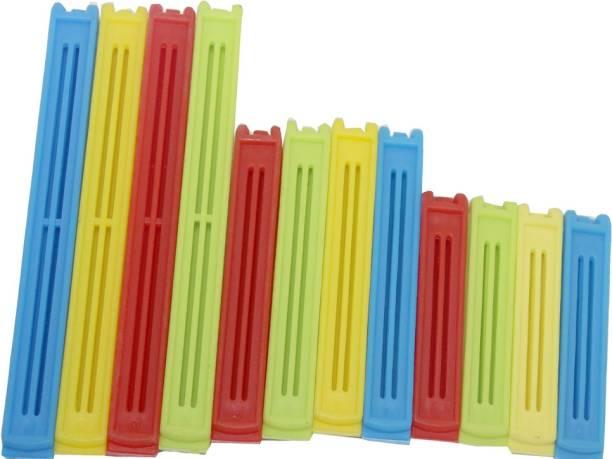 WHITEIBIS 3 Different Size 3 Size Plastic Sealer Pouch Clip