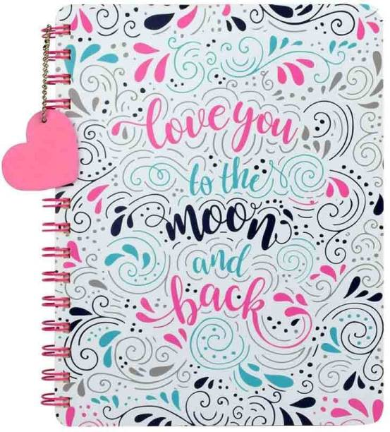 doodle Head Over Heels Diary Notebook,Gift for Girlfriend, Gift for Boyfriend, Birthday/Anniversary Gift Regular Diary Ruled 200 Pages
