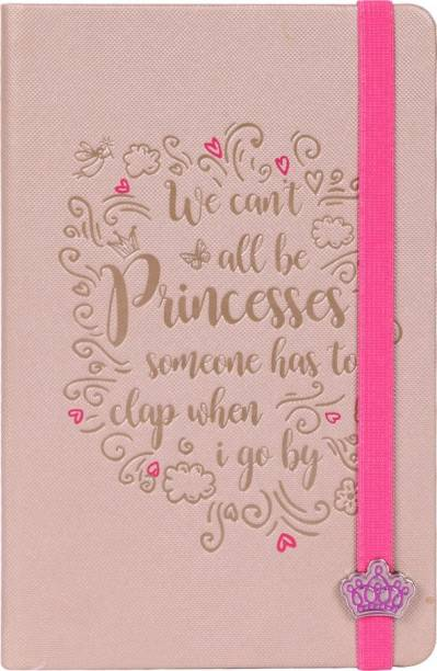 doodle Peachy Blush Diary Notebook for Girls, Gifts for Girls, Size A5, Ruled Pages, 80 Gsm, 200 Pages A5 Diary Ruled 200 Pages