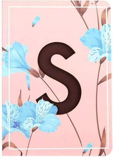 doodle Initial S lasercut Notebook, B6 (6.69 X 4.72 X 0.5 Inches), 200 Pages, 80 GSM, Gift for Women B6 Notebook Ruled 192 Pages