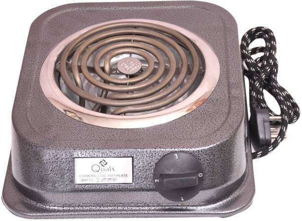 QUALX ISI Mark Shock-Proof only on earthing G Coil Hot Plate Cooking Stove SIMALL Electric Cooking Heater