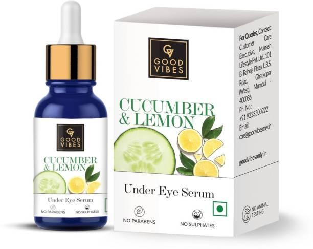 GOOD VIBES Eye Serum - Cucumber and Lemon