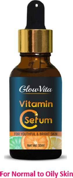 Glow Vita Skin Brightening Vitamin C Serum for Women (for Oily to Normal Skin)