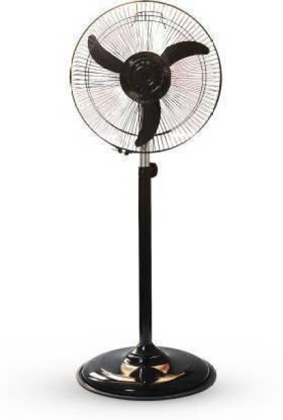 olles || Mini Pedestal Fan || 100 % Copper Motor || 1 Year Warranty || Sweep- 300 MM, 12 Inches || Model-Metal Body (P-2) 220 mm Energy Saving 3 Blade Pedestal Fan