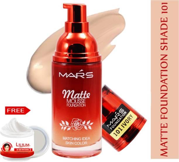 MARS Matte Mousse Foundation-F06-101 Foundation