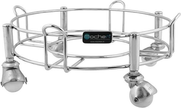 MOCHEN Cylinder Trolley with Wheels / Gas Trolly / LPG Cylinder Stand for Kitchen Gas Cylinder Trolley