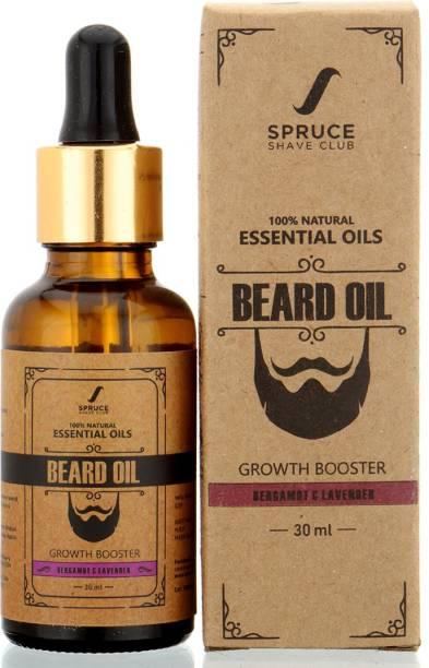 SPRUCE SHAVE CLUB Beard Oil for Men for Beard Growth | 100% Natural Hair Oil