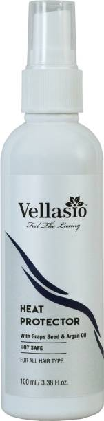 vellasio Classic Heat Protection Spray With Argan Oil, Grapes Seed And Heat Protector Hair Spray . (Classic Collection Hair Spray) Hair Spray (100 ml) Hair Mist