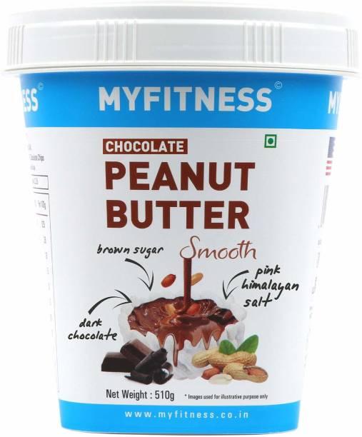 MYFITNESS Chocolaty Peanut Butter 510 g