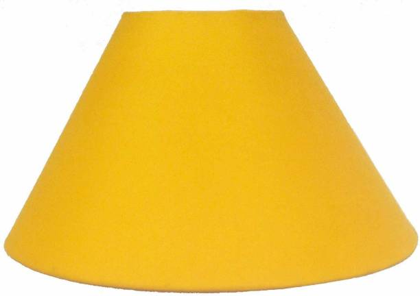 CANDELA Round Plain Yellow Lamp Shade Table Lamps Lamp Shade