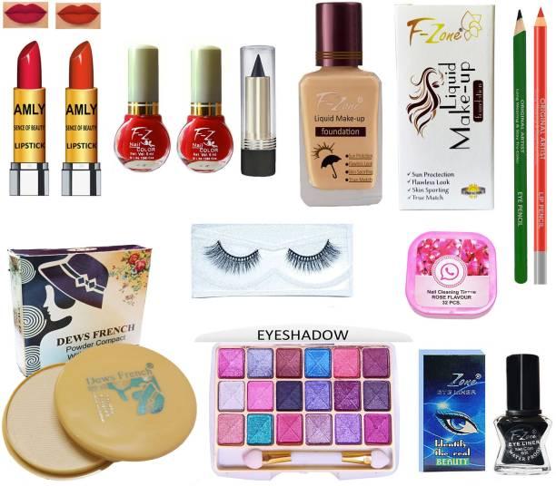 CLUB 16 High Quaility Makeup Kit Of 13 Makeup Items ST78
