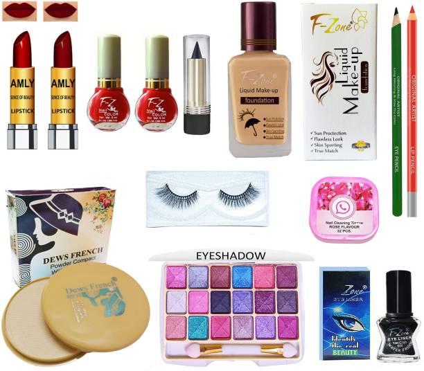 CLUB 16 High Quaility Makeup Kit Of 13 Makeup Items ST37
