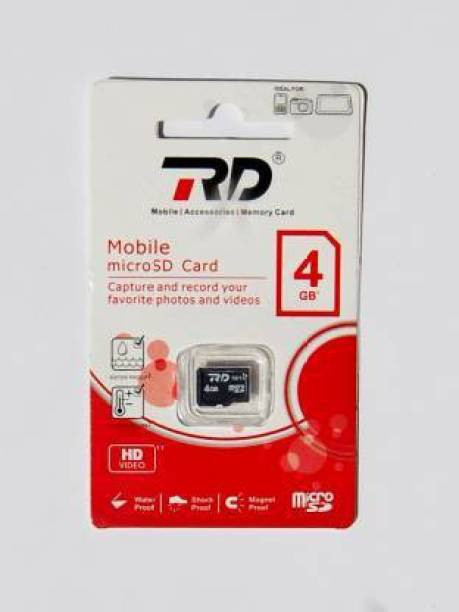 RD 4 4 GB SD Card Class 4 150 MB/s  Memory Card