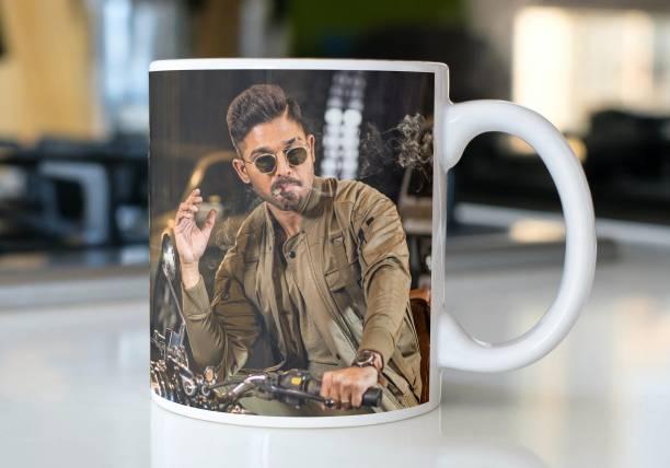 Vrantikar Allu Arjun Printed Ceramic Coffee Mug