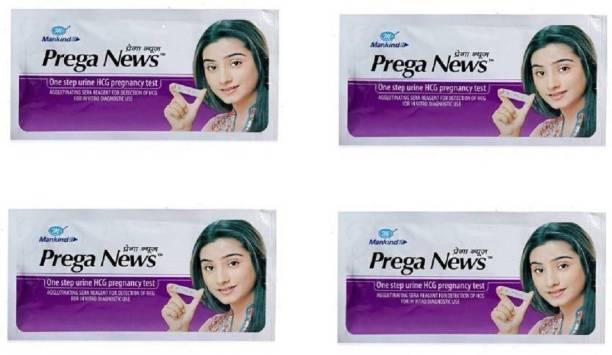 Mankind Prega news Digital pregnancy test kits combo pack of 4 Digital Pregnancy Test Kit