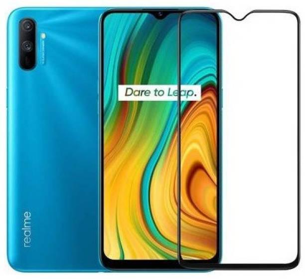 Gorilla Premium Edge To Edge Tempered Glass for Realme C11, Realme C12, Realme C15, Realme Narzo 20, Realme Narzo 20A, Realme Narzo 30A